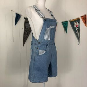 *Vintage* Goodfellows Overall Shorts